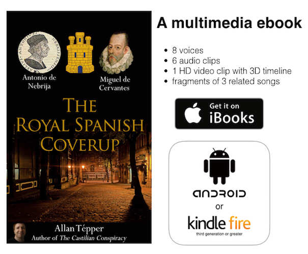 The Royal Spanish Coverup a multimedia ebook.605