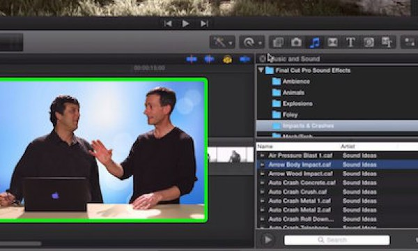 Managing Sound Effects in Final Cut Pro X