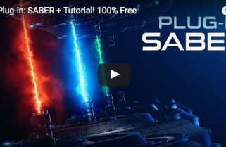 Saber: a new FREE After Effects plug-in from Video Copilot