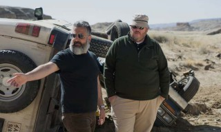 Left to right: Director Glenn Ficarra and Director John Requa on the set of Whiskey Tango Foxtrot.